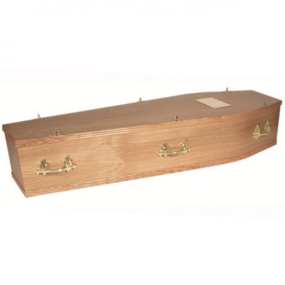 The Newcastle coffin