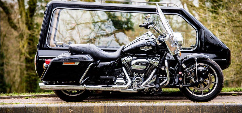 Harley Davidson funeral